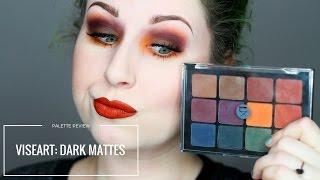 Download PALETTE REVIEW: VISEART DARK MATTES Video
