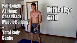 Download 8 Minute At Home Chest, Back, and Legs Workout - Inferno Ep 2. Video