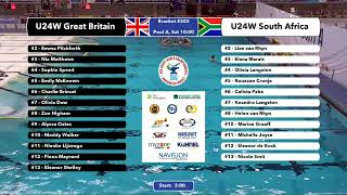 Download Game 201 (RSA vs ESP U19M) SPAINISH - 5th CMAS Underwater Hockey Age Group Worlds - Sheffield, UK Video