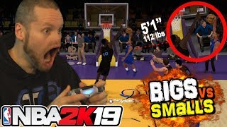 Download NBA 2K19 Smalls vs TALLS! Shortest Players EVER! Video