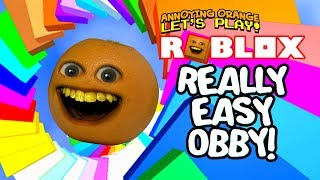 Download Roblox: REALLY EASY OBBY! [Annoying Orange Plays] Video