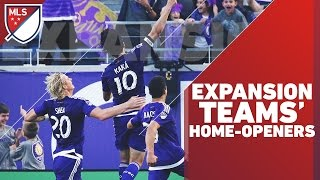Download Every Expansion Team Home-opener in MLS Video