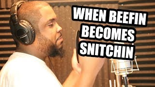 Download WHEN BEEFIN BECOMES SNITCHIN (Comedy Rap Skit) Video