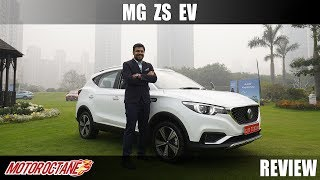 Download MG ZS EV Review in India | Hindi | MotorOctane Video