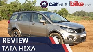 Download Tata Hexa Review - NDTV CarAndBike Video