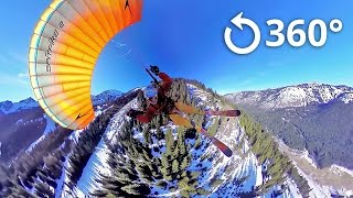 Download Speed Flying 360 Video Crystal Mountain Video