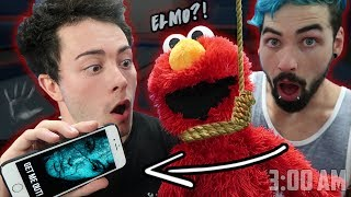 Download (SIRI INSIDE ELMO) DO NOT PLAY WITH ELMO AND SIRI AT 3 AM   ONE MAN HIDE AND SEEK WITH SIRI AND ELMO Video