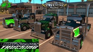 Download American Truck Simulator MULTIPLAYER #1 A Start of something Beautiful Video