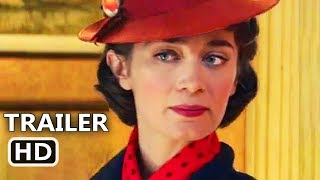 Download MARY POPPINS RETURNS Official Trailer (2018) Emily Blunt, Disney Movie HD Video