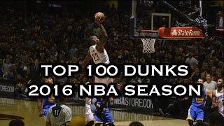 Download Top 100 Dunks: 2016 NBA Season Video