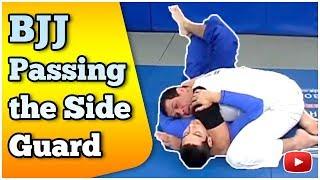Download Brazilian Jiu Jitsu Grappling -Passing the side guard featuring Master Marcus Vinicius Di Lucia Video