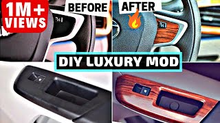 Download DIY LUXURY CAR INTERIOR MODIFICATION Video