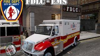 Download GTA IV - Firefighter Mod - FDLC : EMS Video