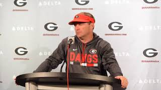 Download UGA coach Kirby Smart Wraps Up Spring Practice on April 19, 2018 Video