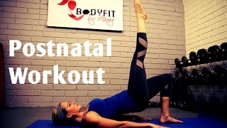 Download 30 Minute Post Natal Workout-Burn Fat and Tone Up after Pregnancy Video