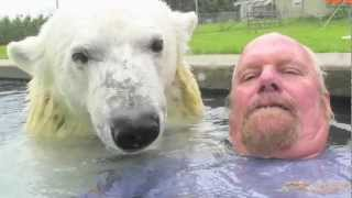 Download The Only Man In The World Who Can Swim With A Polar Bear: Grizzly Man Video