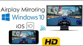 Download How to enable AirPlay Mirroring on Windows | No Paid Software, No Cables | iOS 10.x UPDATED Video