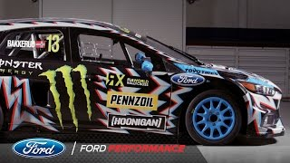 Download 2017 Hoonigan Racing: Death Spray Custom Focus RS RX | FIA World Rallycross | Ford Performance Video