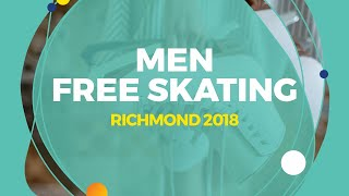 Download Matvei Vetlugin (RUS) | Men Free Skating | Richmond 2018 Video