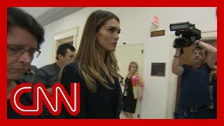 Download Ex-Trump confidante Hope Hicks testifying before Congress Video