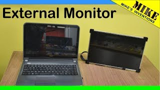 Download Making an External Monitor from a Laptop Screen - Mikes Inventions Video
