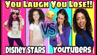 Download Try Not To Laugh Challenge 2017 Disney Stars VS Youtubers Musical.ly Battle Video
