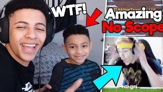 Download Myth Revealed His Kid, Ninja's Amazing Shot | Ninja VS Myth #1 Video