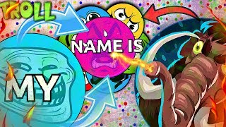 Download Agar.io TROLLING ″MY NAME IS... v2″ in Agario | Agar.io FUNNY MOMENTS Video