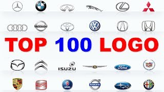 Download TOP 100 LOGO CARS | 100 BEST CAR BRANDS | Learn Car Brands with Red Cat. Video