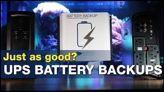 Download The power is out. How many hours does your tank have? UPS vs. DC backup! Video