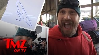 Download Tom Hardy's Signature Looks Like A.... Penis?! | TMZ TV Video