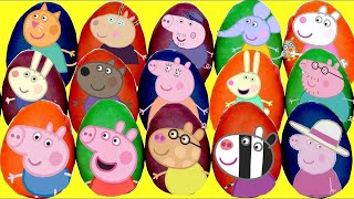 Download LOTS of PEPPA Pig Play-doh Surprise Eggs! Video