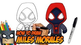Download How to Draw Miles Morales | Spider-man | Step-by-Step Tutorial Video