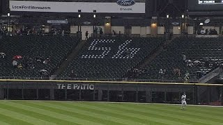 Download TOR@CWS: Fan honors Buehrle with No. 56 in bleachers Video