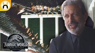 Download Ian Malcolm and Indoraptor First Looks! - Jurassic World Fallen Kingdom Preview Breakdown Video
