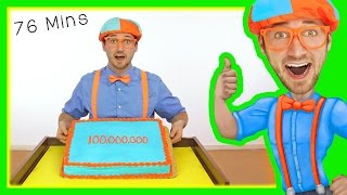 Download Blippi 100 Million Views | Preschool Songs and More! Video