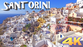 Download SANTORINI - GREECE 4K Video
