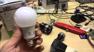 Download Dollar Tree $1 LEDlife 6.5 watt LED Bulb review and teardown (40 watt equiv) Video