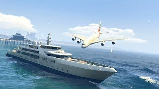 Download GTA 5 - Amazing\terrible PLANE CRASH Compilation #8 Video