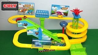 Download Đồ chơi đường ray đua xe siêu tốc lượn vòng play set high speed rail racing car toy for kid Video