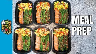 Download How to Meal Prep - Ep. 58 - SALMON MANGO SALSA Video