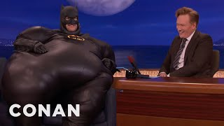 "Download Why Adam Pally Is Dressed Like ""Fatman″ - CONAN on TBS Video"