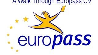 Download Europass CV Walk Through Video