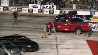 Download Dodge SRT-10 Ram vs Ford SVT F-150 Lightning at TMS, June 2012 Video