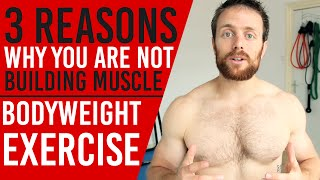 Download 3 Reason Why You are Not Building Muscle With Calisthenics Video