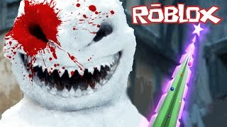 Download Roblox - Murder Mystery 2 - MURDERED BY A KILLER SNOWMAN! Video