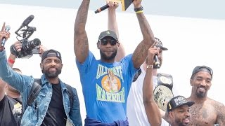 Download LeBron James Trolls Warriors, Dell Curry Gets Dabbed On Video
