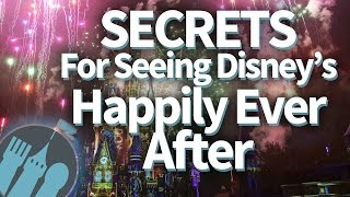 Download SECRETS For Seeing Disney World's Happily Ever After Fireworks in Magic Kingdom! Video