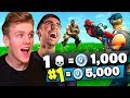 Download 1 KILL = 1000 *FREE* VBUCKS In Fortnite Battle Royale w/ Vikkstar123 Video