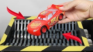 Download Experiment Shredding Disney Cars 3 Lighting McQueen And Toys | The Crusher Video